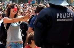 Motivaciones policiales en el desalojo de la Plaça de Catalunya