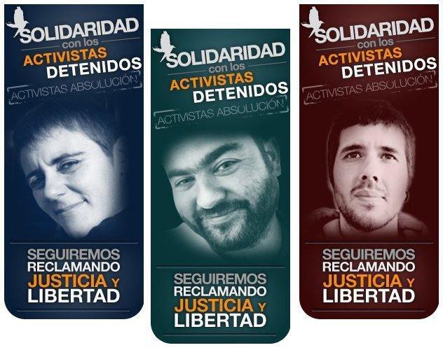 """Tres """"animalistas"""" en la cárcel"""