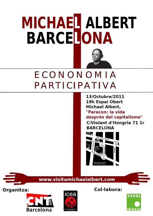 Parecon: la vida después del capitalismo. Conferencia de Michael Albert