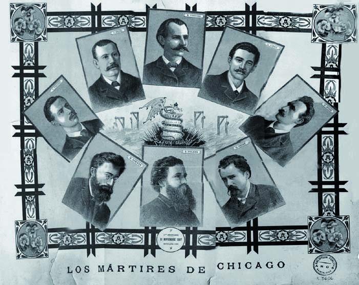 En record dels màrtirs de Chicago