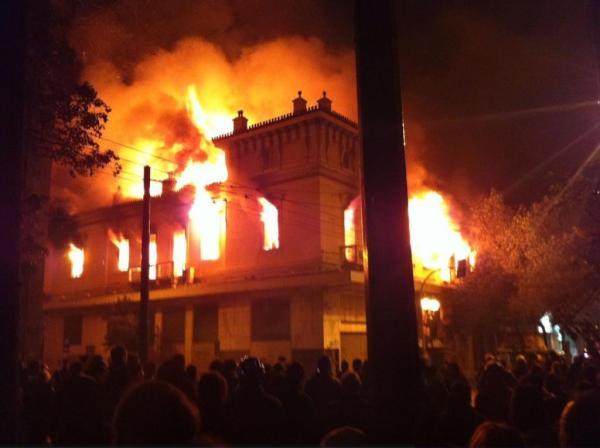Grècia en flames contra el capital