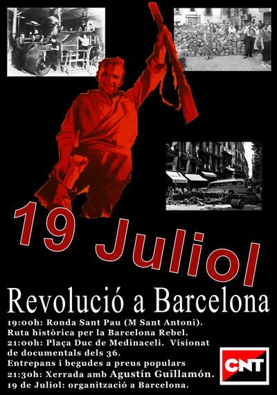 Jornada d'homenatge a la revolució social del 19 de juliol