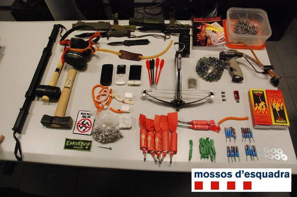 material mossos