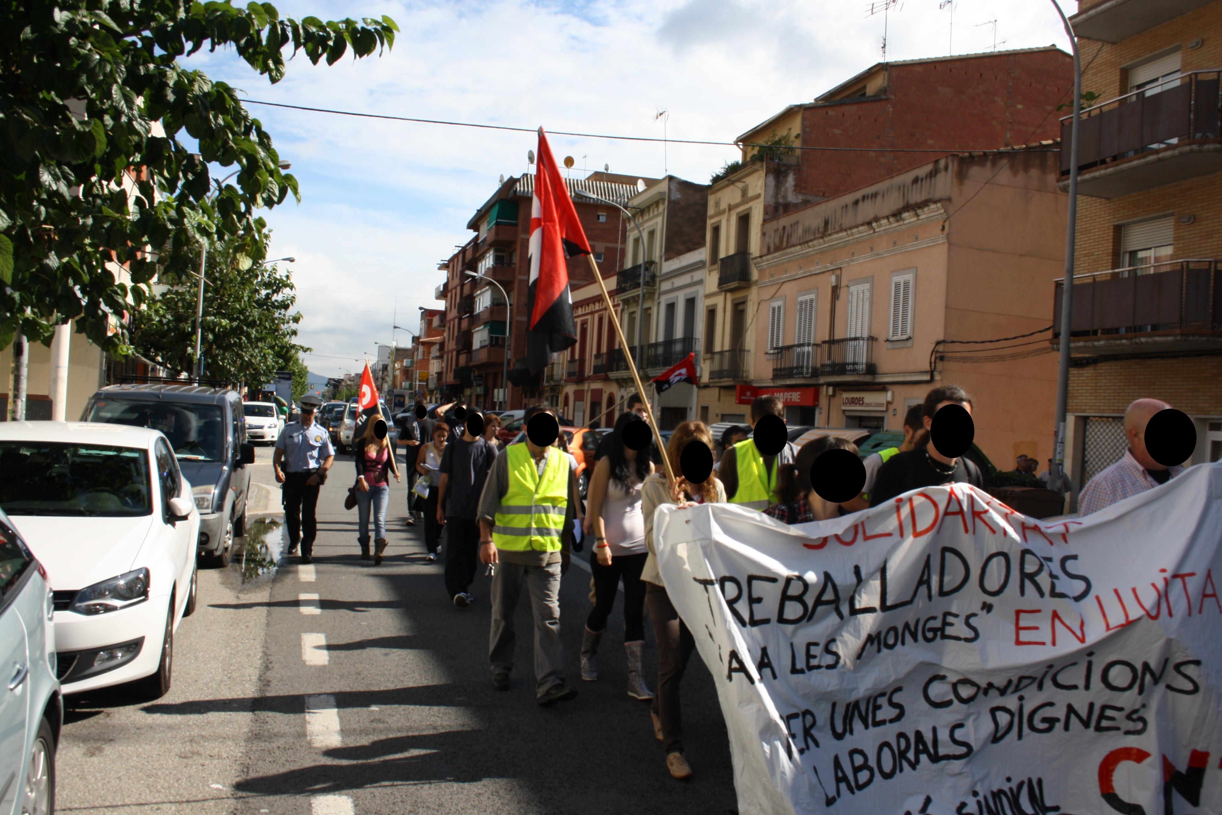 """L'assemblea de treballadores de la residència de la 3ªedat """"Casa de les Monges"""" revoca la delegada d'UGT"""