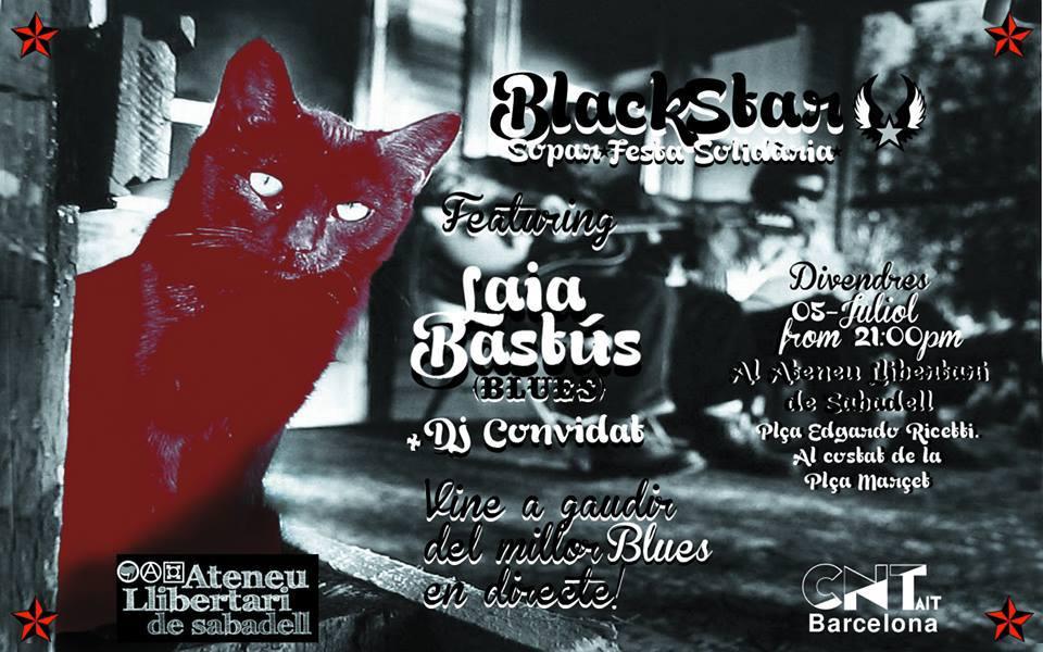 Sopar i festa solidària BlackStar