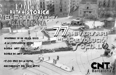 77è aniversari de la revolució social