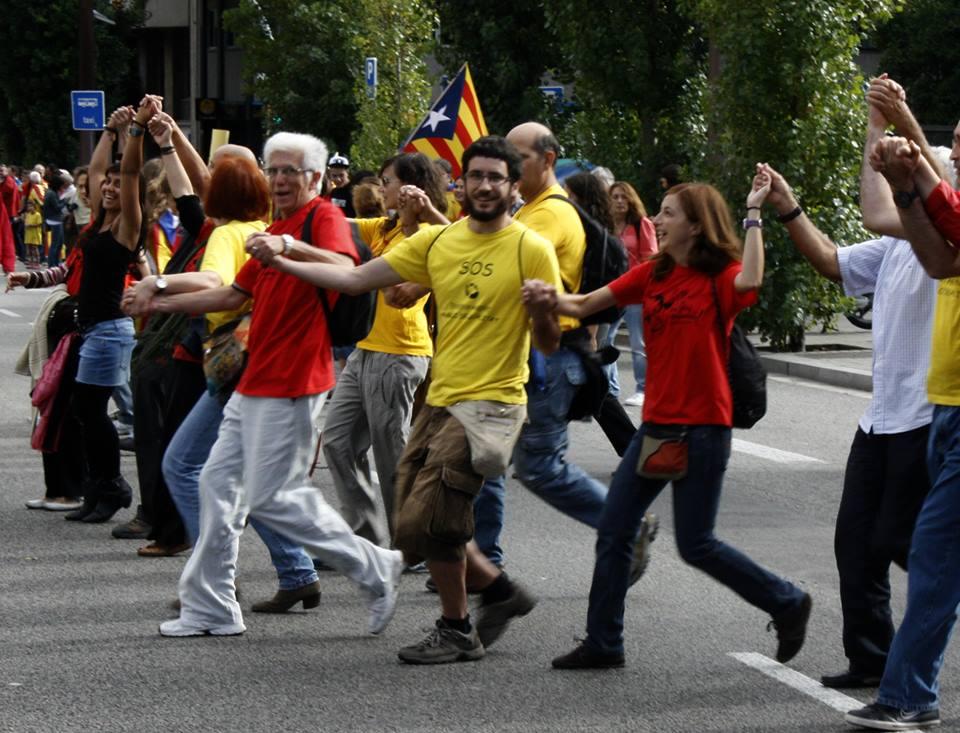 """""""La independència de la nostra terra no ens fa por"""""""