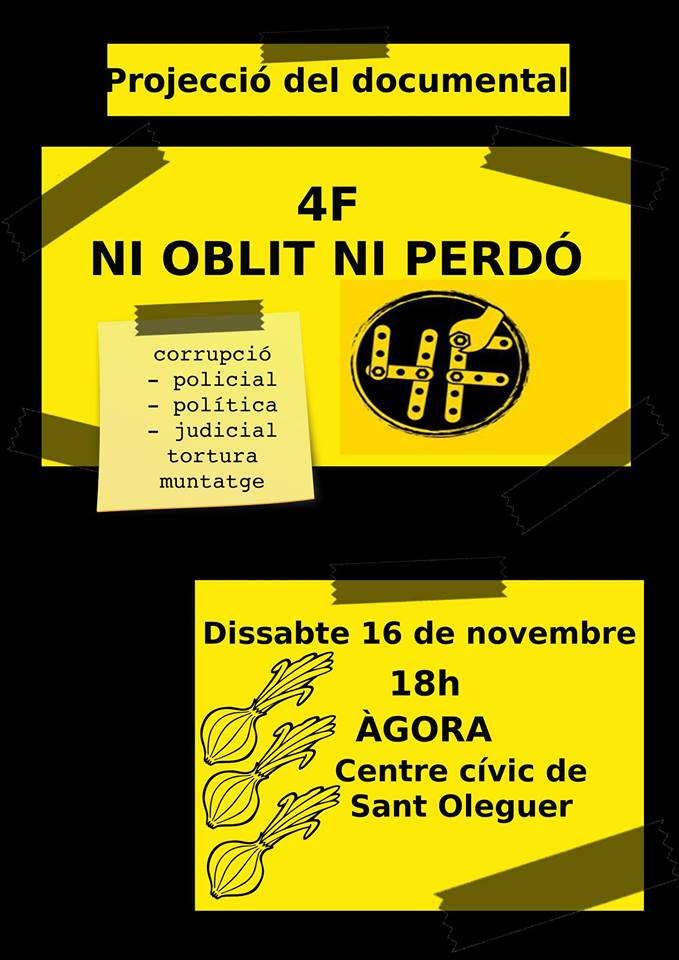 Passi del documental 4F a Sabadell