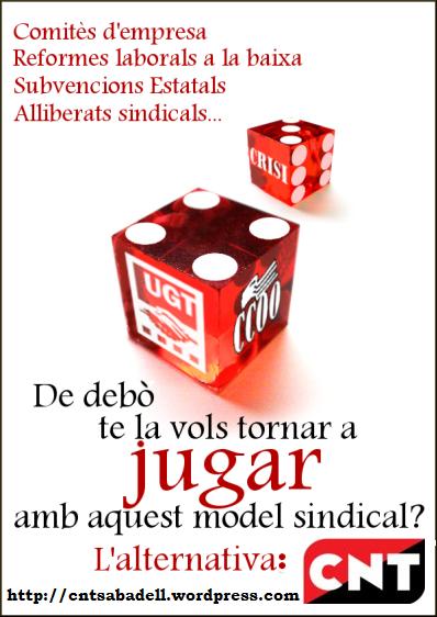 La representación sindical de los trabajadores en las empresas españolas