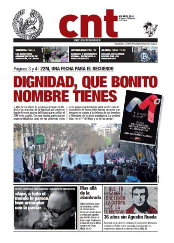 Periódico CNT nº 410 – Abril 2014