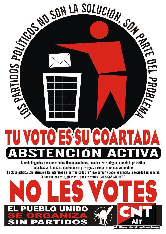 Ante las elecciones europeas: abstención activa