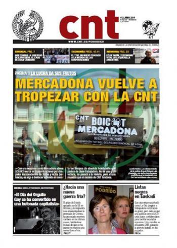 Periódico CNT nº 412 – Junio 2014