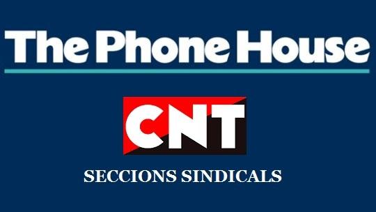 Creada secció sindical de la CNT Sabadell a The Phone House Barberà del Vallès (Baricentro)