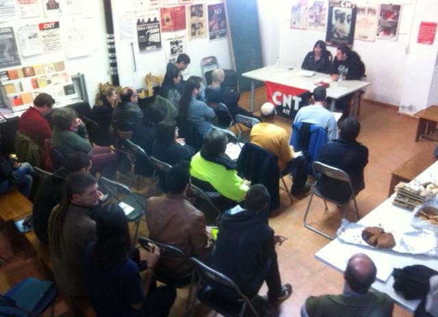 CNT Sabadell  realitza un curs d' acció sindical i normativa laboral.
