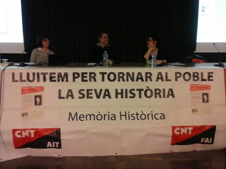 El moviment llibertari de Sabadell realitza un homenatge a Teresa Claramunt