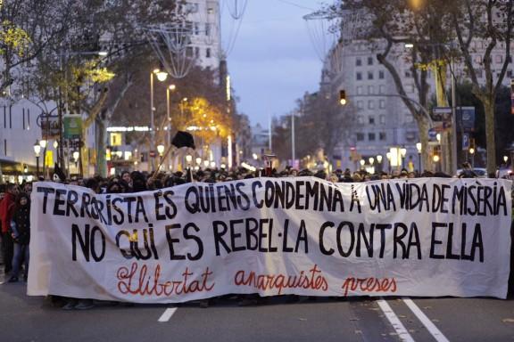 Comunicat de la CNT catalana sobre el nou atac contra el moviment llibertari