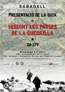 """Presentació del llibre-guia """"Seguint les passes de la guerrilla"""""""