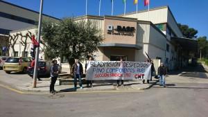 La gerència de Pino Componentes no readmet als sindicalistes acomiadats.